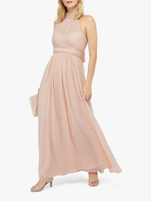Monsoon Marion Halter Embellished Maxi Dress