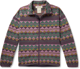 Remi Relief Printed Woven Track Jacket