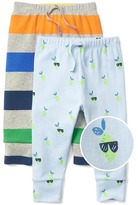 Lime knit pants (2-pack)