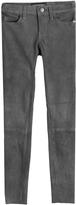 Current/Elliott Suede Skinny Pants