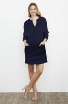 Maternal America Women's Stripe Maternity Dress