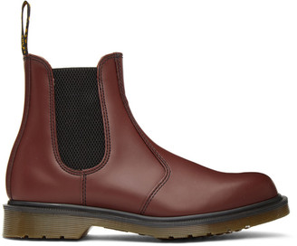 Dr. Martens Red 2976 Chelsea Boots