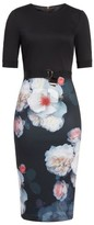 Ted Baker Women's Maason Chelseas Floral Body-Con Dress