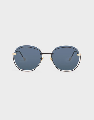 Charles & Keith Cut Out Butterfly Sunglasses