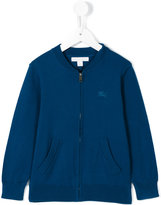 Burberry zipped sweatshirt - kids - Cotton - 4 yrs