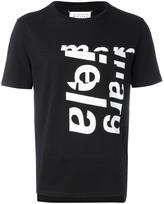 Maison Margiela printed spliced T-shirt