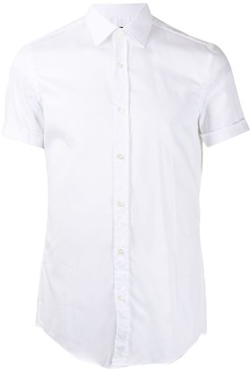 HUGO BOSS Turn-Up Cuffed Shirt