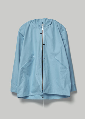 Camiel Fortgens Men's Cotton Rain Jacket in Light Blue Size Small