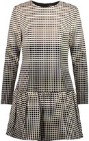 Raoul Delaney cotton-blend jacquard mini dress