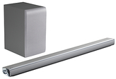 LG Electronics SJ5 Bluetooth Sound Bar with Wireless Subwoofer & High Resolution Audio, Silver