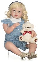 "NPK 70CM ""Reborn Baby Doll Hand Made Silicone Soft Realistic Baby Toys Newborn Hots"