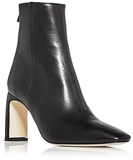 Anine Bing Women's Gianna Square Toe High Heel Booties