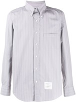 Thom Browne striped poplin shirt