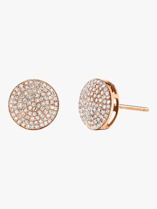 Shay Jewelry Essential Round Pave Diamond Studs