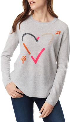 LISA TODD Plus Size Beau & Arrow Curved-Hem Sweater