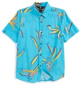 Volcom Boy's Motel Floral Shirt