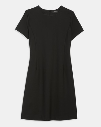 Theory Jatinn Dress in Good Wool