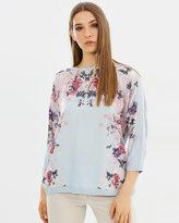 Oasis Kimono Placement Tee