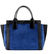 Alison Small East/West suede tote