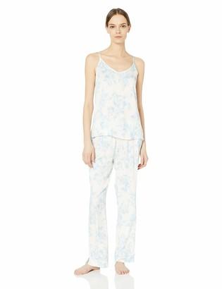 Splendid Women's Bridal Rayon Cami Top and Long Pant Pajama Set Pj