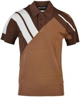 Neil Barrett Geometric Polo Shirt