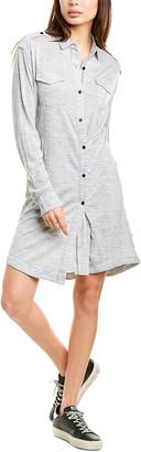 Rag & Bone Leyton Wool-Blend Shirtdress