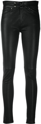 IRO Skinny Leather Trousers