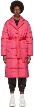 MSGM Pink Padded Coat