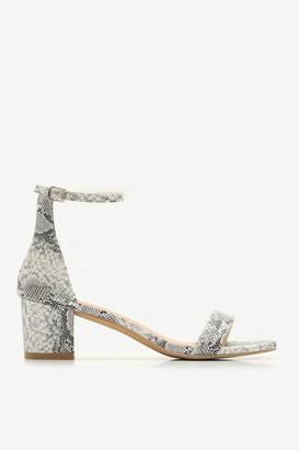 Ardene Snakeskin D'Orsay Sandals