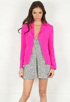 Naven Blazer in Pop Pink -