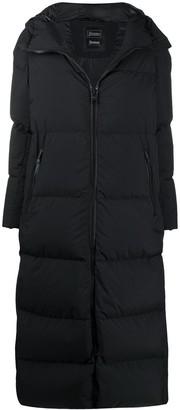 Herno long Laminar padded coat