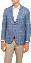 Canali Window Check Jacket