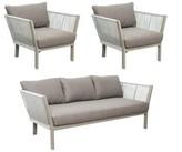 Helena Archipelago St. 3 Piece Sofa Seating Group with Cushions Seasonal Living