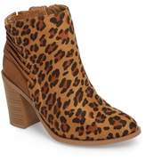 Very Volatile Lacey Leopard Bootie