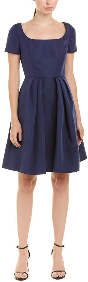 Carolina Herrera Silk A-Line Dress