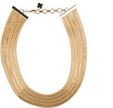BCBGMAXAZRIA Tiered Multi-Chain Collar Necklace