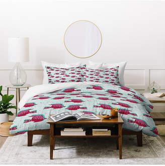 Deny Designs Holli Zollinger Folka Angelfish Twin Duvet Set Bedding