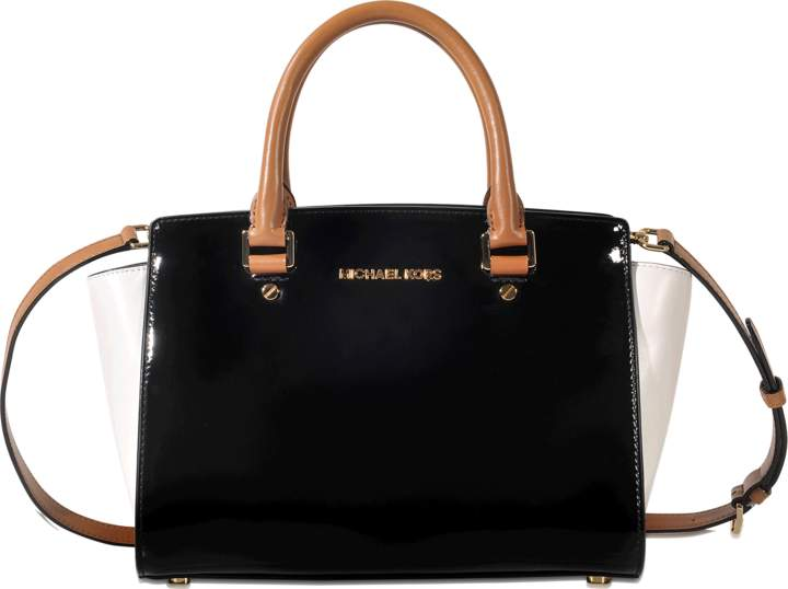 MICHAEL Michael Kors Selma medium top zipped Satchel