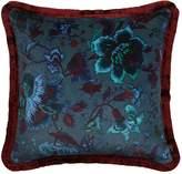 Majorelle Large Cotton Velvet Pillow