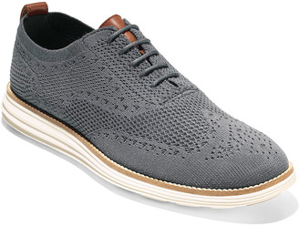 Cole Haan Men's Original Grand Knit Wing-Tip Oxfords