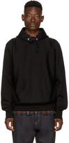 Junya Watanabe Black man Cant Live Without Hip Hoodie