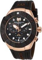 Technomarine Men's Reef 45mm Silicone Band Plastic Case Quartz Watch Tm-515019
