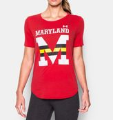 Under Armour Women's Maryland UA Cotton Modal Graphic T-Shirt