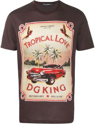 Dolce & Gabbana Tropical Love short-sleeved T-shirt