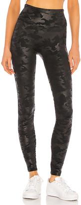 Spanx Faux Leather Camo Legging