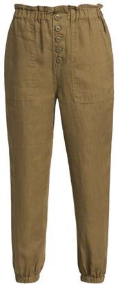 Joie Derren Paperbag Waist Linen Pants