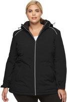 ZeroXposur Plus Size Imani Stretch Hooded Jacket
