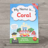 My 1st Years Personalised 'My Name Is...' Book