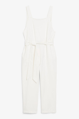 Monki Pinafore jumpsuit