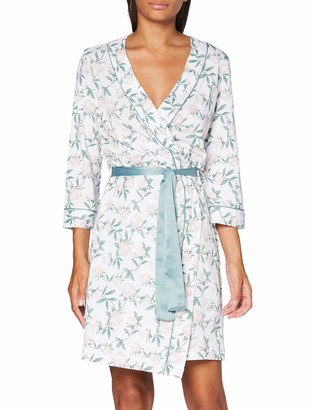 Lovable Women's Flower Dressing Gown Pajama Top